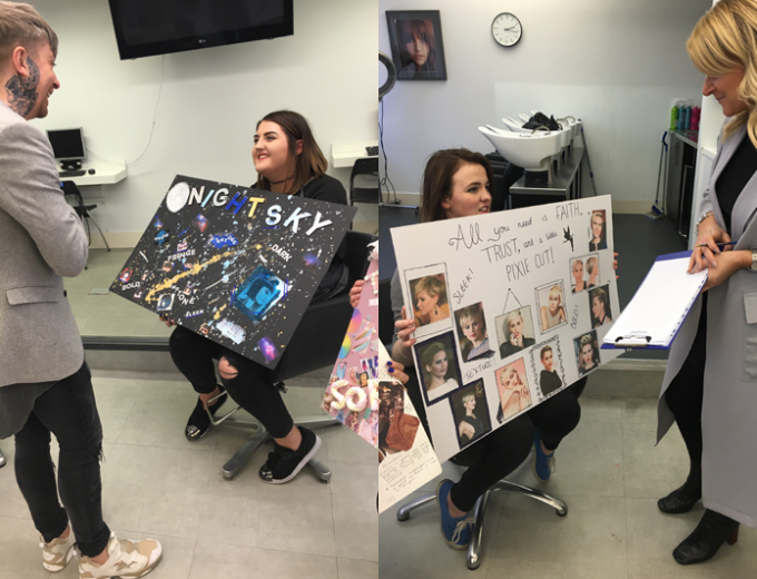 hairdressing apprentice training